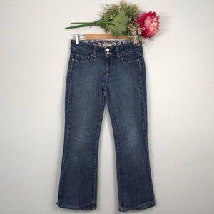 Paige | Hidden Hills Mid Rise Bootcut Jeans SZ 28P